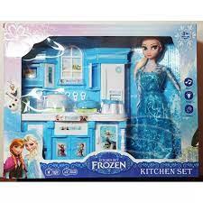 Bộ đồ chơi Nhà Bếp Kèm Búp Bê Elsa