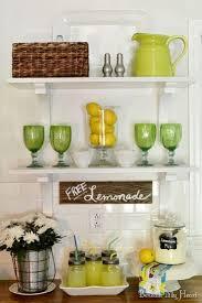 Kitchen Shelf Decorating Decorate Kitchen Shelves Decor Ideas