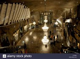 Saltmine Workplace Design Underground Church Of Saint Kinga At Wieliczka Salt Mine