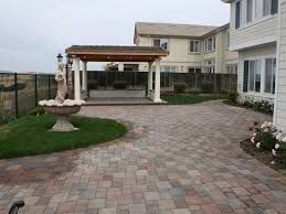 patio pavers over concrete. Concrete Paver Patio Site BR Landscapers, \u0026 Pavers Pleasanton, Over S