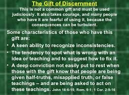 the gift of discernment was given to me by the holy spirit when i was younger i wonder how closely this gift is to being infj as well