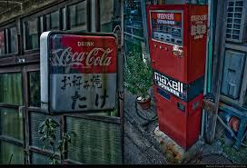 Old Vending Machine Classy Really Japan Photo A Battery Vending Machine And An Old Coke Sign