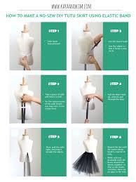 How To Basic Tutu Skirt Kara And Kim Diy Tutu Supplies