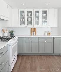 Kitchen Design White Appliances Grey Kitchen Cabinets And White Appliances Quicuacom
