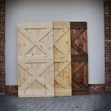 barn door rustic sliding door wooden door for sliding systems x2 loftmarkt