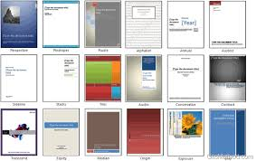 Cover Page Template Word Impress Your Boss With Amazing Cover Pages In Word 2010 Gilsmethod Com