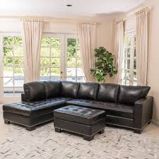 3 piece leather sectional. Fine Leather Shop Lincoln Left Facing 3piece Leather Sectional Sofa Set By Christopher  Knight Home  Free Shipping Today Overstockcom 12300233 Throughout 3 Piece F