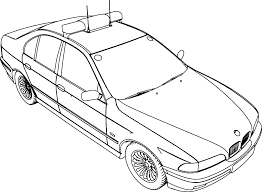 Free Printable Cars Coloring Pages Police Car For Colouring Print