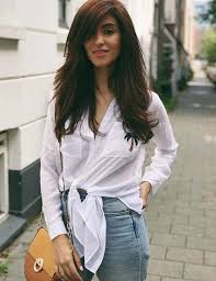 50 best long hair with bangs looks for