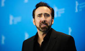 Nicolas Cage, 57, pictured with fifth ...