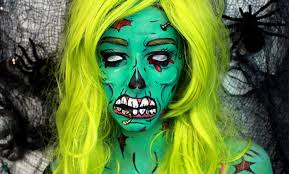but here s a zombie makeup tutorial with no fake blood or prosthetics involved iwanted2c1video has created