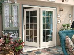 image of rustic french patio doors ideas
