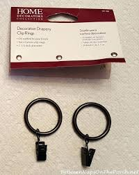 dry rings with clips dry clip rings without hook white wooden curtain rings with clips