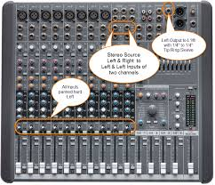 stereo mixer to mono l1® bose pro portable pa encyclopedia faq mackie cfx 12 manual