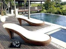 unusual outdoor furniture. Poly Wicker Outdoor Furniture How Can Rattan Garden Look Some Designers Show Us Create With Very Unusual Shapes The Sofa In R