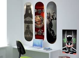 batman skateboard wall decals set of 3 batman skateboard wall decals
