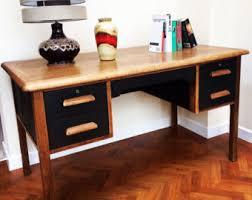 vintage office desks. soldretro teacheru0027s desk air ministry stylemidcentury modern vintage solid oak hand office desks v