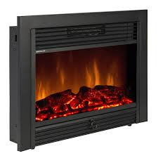 bcp sky1826 embedded with glass and remote electric fireplace insert