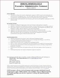Sample Administrative Assistant Resume Summary Best Of