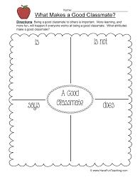 Classmate Worksheet