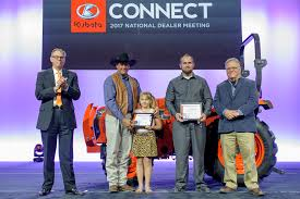 Meeting At Tractor Dealer Awarded And 2017 Honored Wire New Veterans Farmer Kubota Tractors Corporation's Business