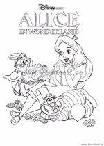 Alice In Wonderland Kleurplaten Zonder Reclame