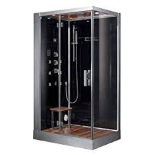 Indulge yourself in the pure relaxing pleasure of the Aerial Platinum left  side model steam shower. With all the pros of a 6KW steam generator and the  added ...