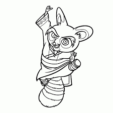 25 Nieuw Kung Fu Panda Tijger Kleurplaat Mandala Kleurplaat Voor