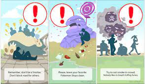 More warnings for Pokemon Go trainers - illustrated: pokemongo