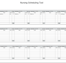 College Class Scheduler Class Schedule Excel Weekly College Template Timetable Format