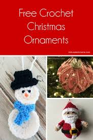 Crochet Christmas Ornaments Patterns Classy Free Crochet Christmas Ornaments Patterns