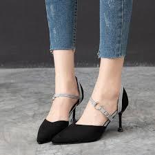Женские <b>босоножки</b> на тонком высоком каблуке, удобные ...