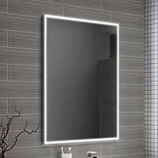 600 x 800 mm Designer Illuminated LED Bathroom Mirror Light Sensor