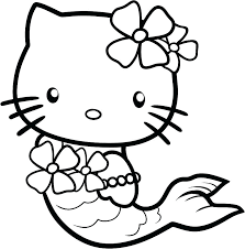 Hello Kitty Coloring Pages To Print Coloring Color By Number Hello