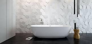 hex hexagonal hexagon tiles white 3d three dimensional contemporary