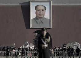 mao vs mao a prominent chinese scholar takes on the regime s mao zedong s portrait in tiananmen square on mar 10 2015 ap photo andy wong