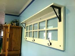 door coat rack wall coat rack with shelf and mirror woodworking door coat rack