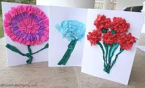 Make Crepe Paper Flower Crepe Paper Flower Cards