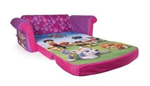 Wonderful Couch Bed For Kids Patrol Girls Plush Chair Fold Out Padded Design Ideas