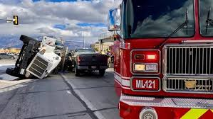 PHOTOS: One critically injured in semi-truck wreck that closes ...