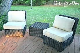 outdoor furniture replacement