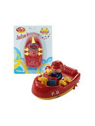 Заводная <b>игрушка</b> Пожарная лодка <b>Bampi</b> 6212613 в интернет ...