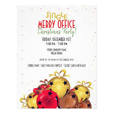 office party flyer christmas bells office party invitation flyer office party