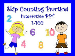 Interactive Counting Chart Skip Counting Multiplication Strategy Hundred Chart Interactive Powerpoint