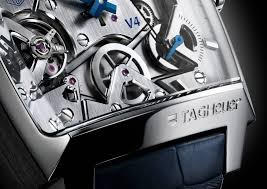 tag heuer v4 mens watch close the wrist watcher