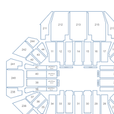 Rupp Arena Seating Chart Seat Numbers Rupp Arena Interactive Seating Chart
