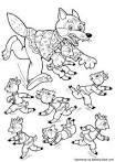 Волк и семеро козлят сказка раскраска