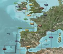 Garmin Bluechart G3 Vision Charts Atlantic Coast Small And