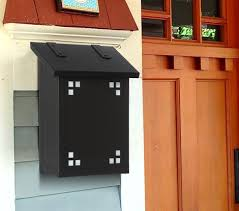 vertical wall mount mailbox. The Pasadena Craftsman Vertical Wall Mount Mailbox Is Hand Made To Give You A Classic Mission R