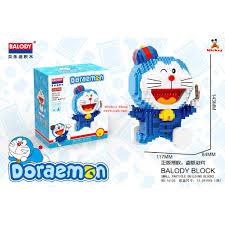 Bộ xếp hình Lego Xếp hình lego doremon Balody chính hãng cho bé đồ chơi trẻ  em Doremon Nanoblock Đồ chơi lắp ráp cho bé giá cạnh tranh